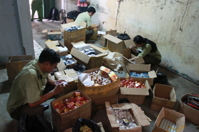 Vietnam cracks 170,000 smuggling, goods counterfeiting cases in first 10 months