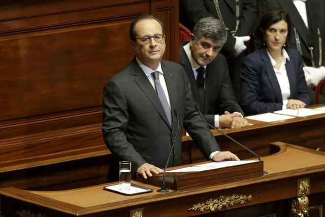 Vowing to destroy terrorism, France seeks global coalition against Islamic State