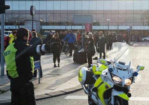 Copenhagen airport terminal evacuated over suspect bag
