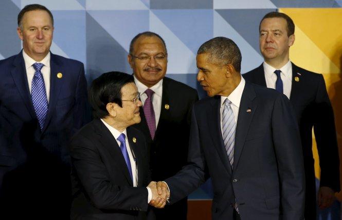 Vietnam president advocates economic links at APEC Summit
