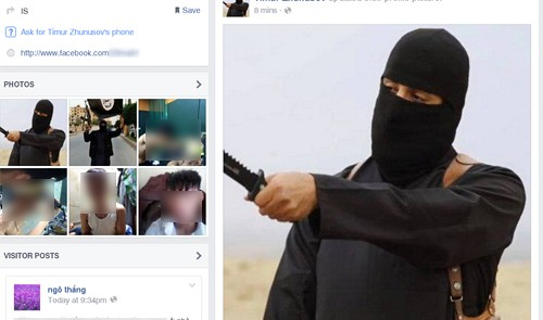 Fake IS Facebook accounts created by thoughtless Vietnamese unleash terror in country
