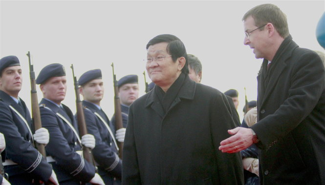 Vietnamese president to join talks with German counterpart during state visit
