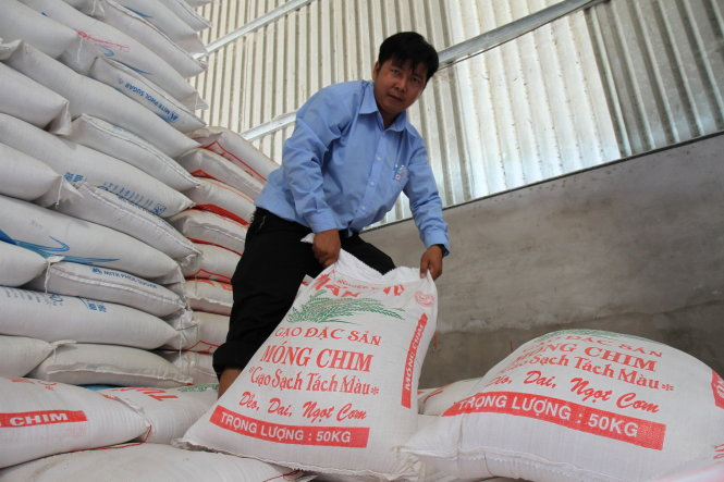 In rice-exporting Vietnam, consumers growing fond of Cambodian grain