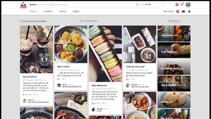 Vietnam food-finder app gets at least $1mn funding