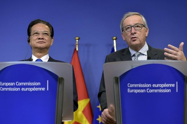 Vietnam-EU free trade pact to take effect in 2018