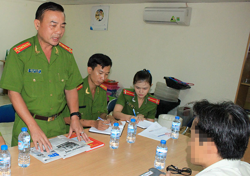 Vietnam firefighting police apologize to firm after officers caught demanding bribes