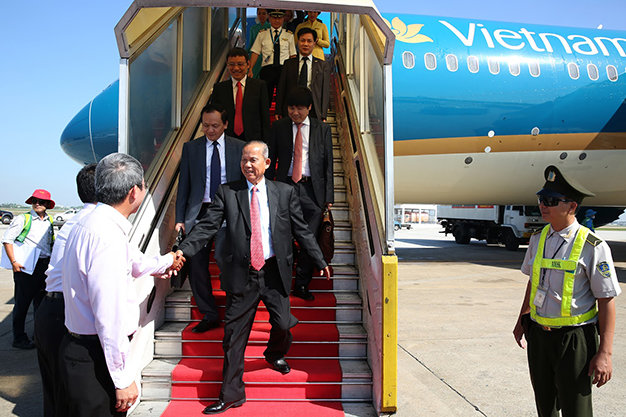 Vietnam celebrates 600,000th safe flight in 2015