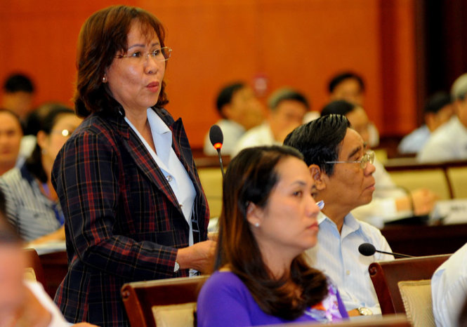 Where are corrupt officials in Ho Chi Minh City?