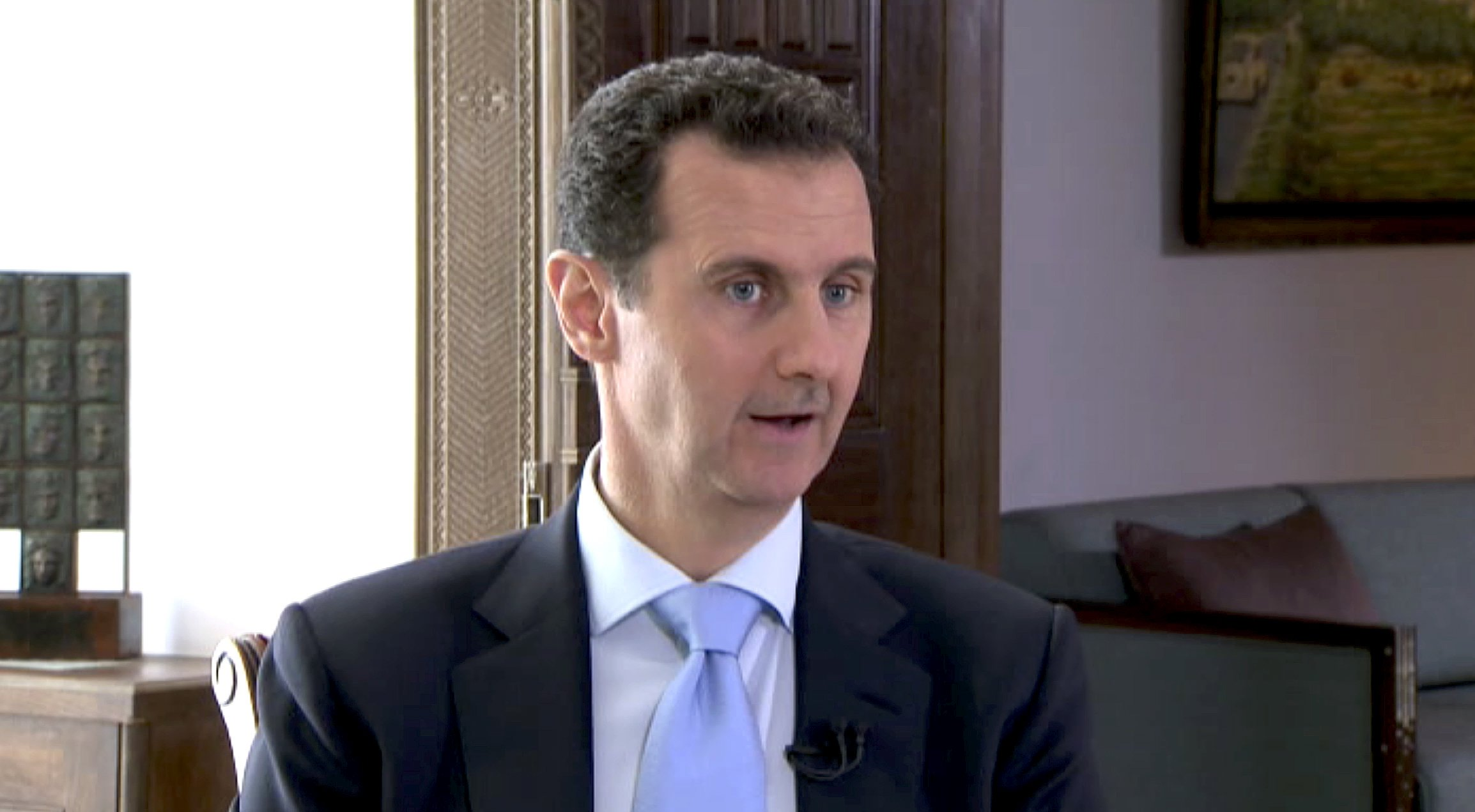 Syria's Assad says he will not negotiate with armed groups