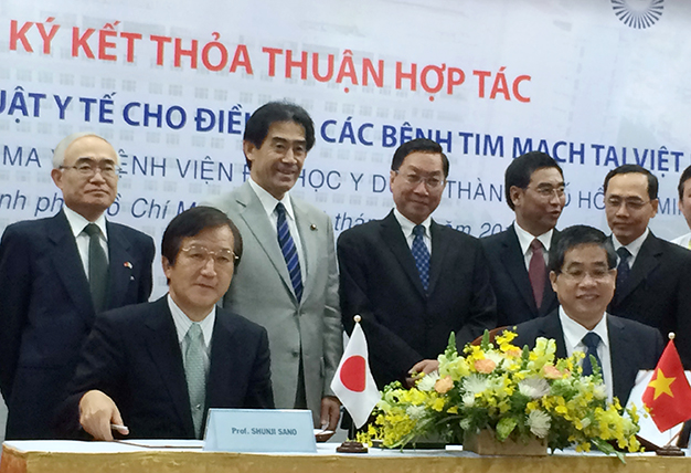 Japan promises $661,000 support for heart disease treatment in Vietnam