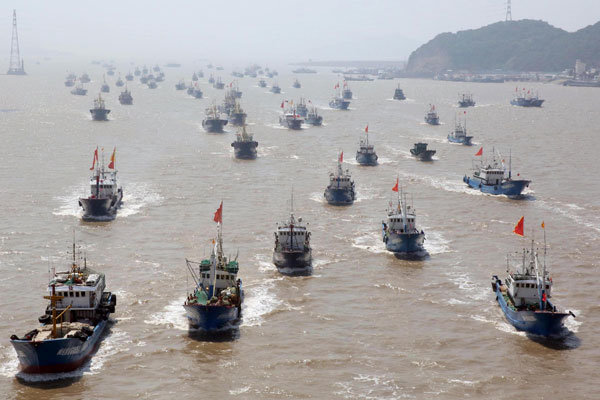 China trying to establish new fishing grounds in Vietnam waters