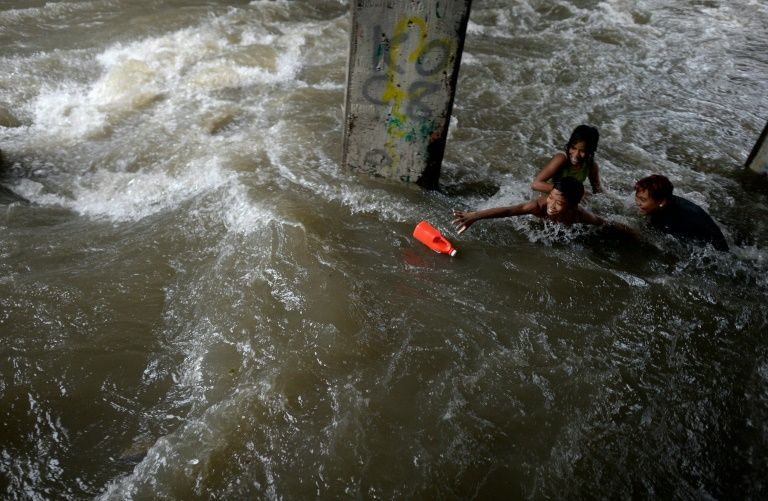 Death toll rises to 45 in storm-hit Philippines