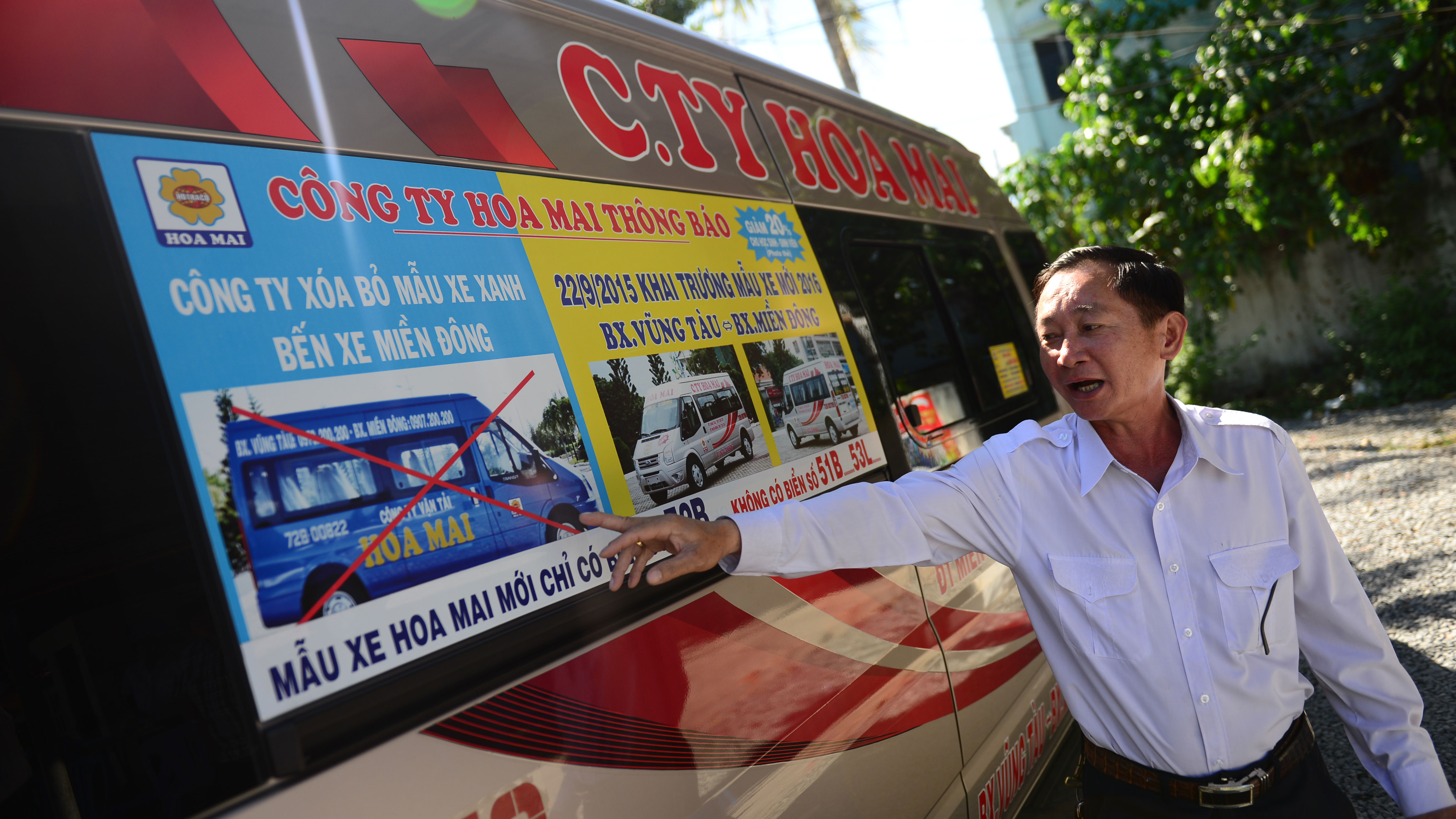 Police in southern Vietnam to probe fake buses that cheat, threaten passengers