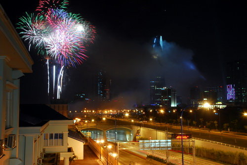 Ho Chi Minh City to block downtown streets for NYE fireworks