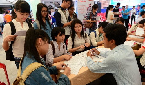 Bachelors, masters constitute 20% of unemployed people in Vietnam