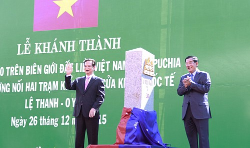 Vietnam, Cambodia inaugurate two border markers