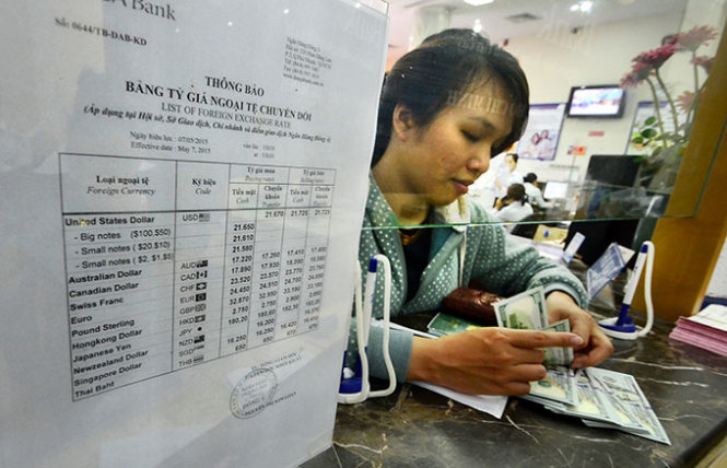 Vietnam begins setting central rate for VND-USD transactions in de-dollarization bid