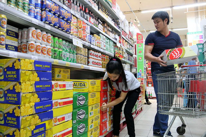 Vietnam's beer output rises 4.7 percent to 3.4bn liters in 2015