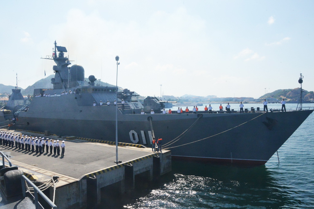 Vietnamese frigate to attend International Fleet Review in India next month