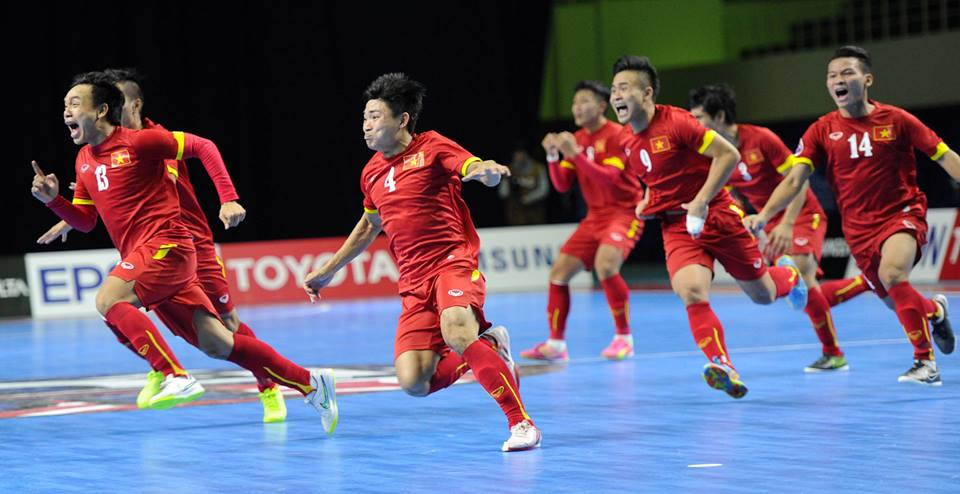 Vietnam futsal coach looks ahead after historic World Cup qualifier win over Japan