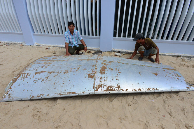 Suspected plane debris found offshore in south-central Vietnam