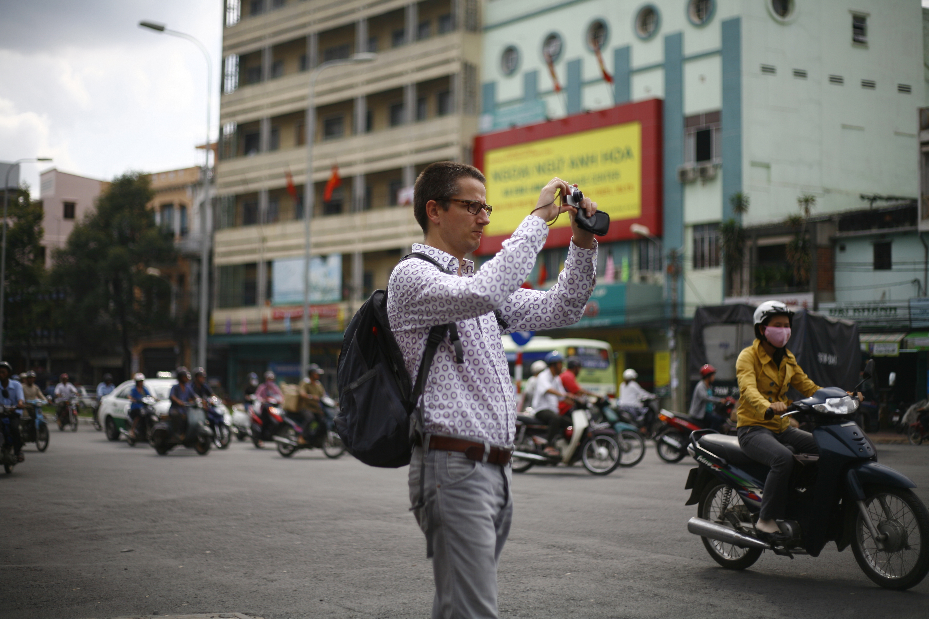 Dutch architect seeks solutions to climate change issues in Vietnam