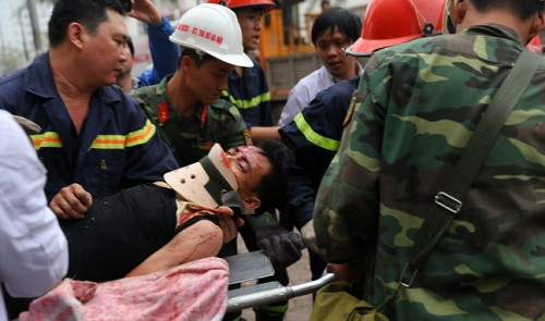 Four killed in suspected bomb explosion in Vietnam capital