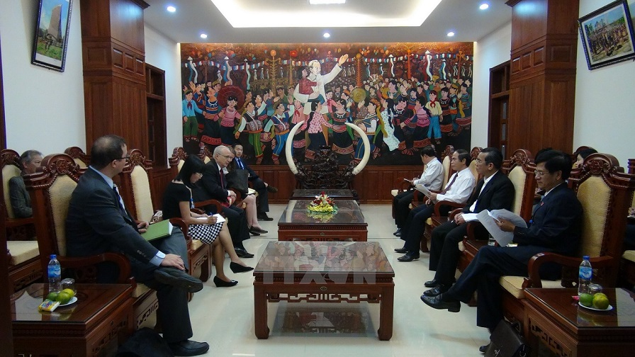US Department of State officials visit Vietnam to get religious updates