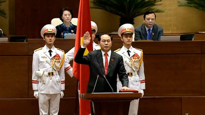 General Tran Dai Quang named Vietnam's new president