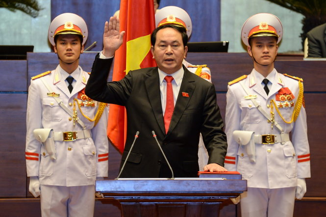 Vietnam pins hope on new president to defend sovereignty