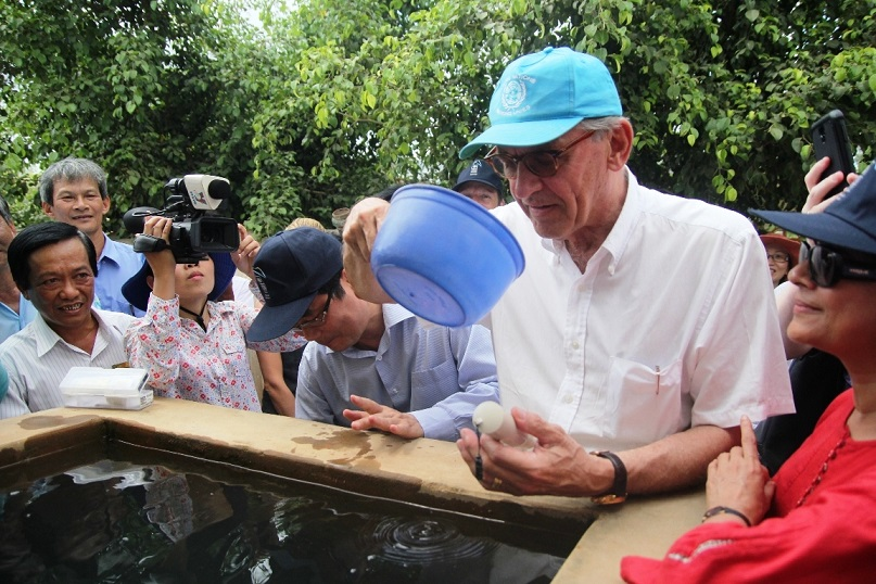 UN Deputy Secretary-General visits drought-hit province in Vietnam