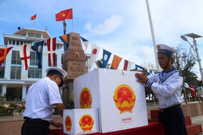 How Vietnam's national elections run