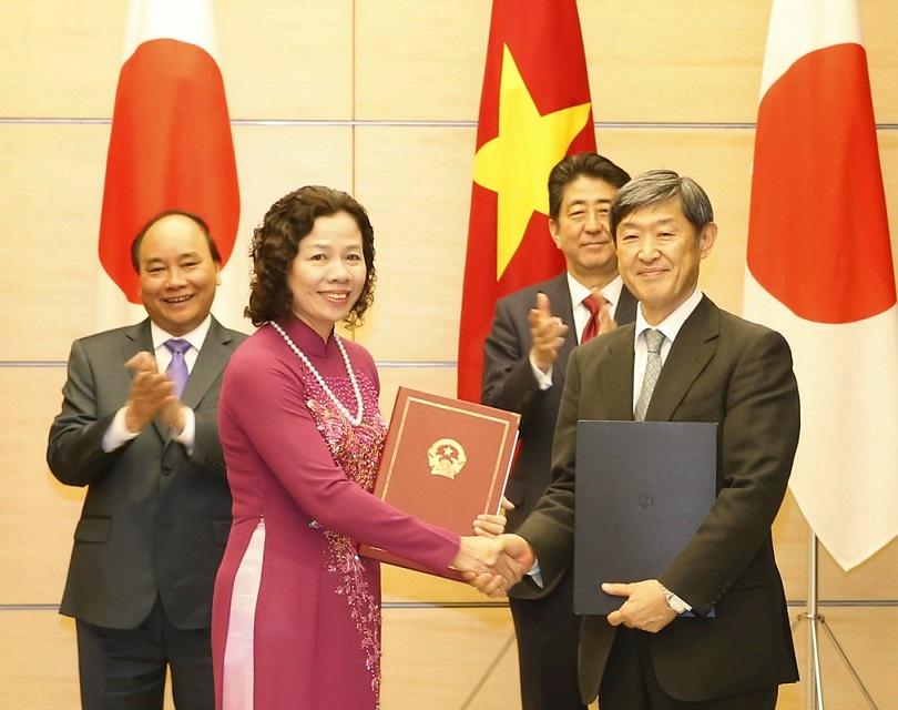 Vietnam, Japan to strengthen defence, economic ties