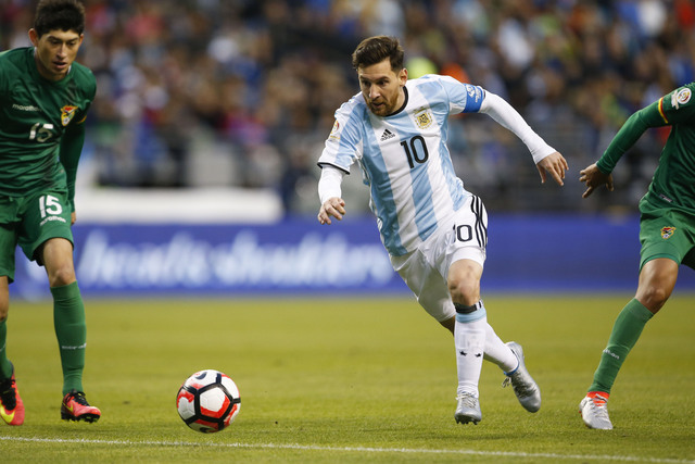Messi matches record as Argentina win Copa quarter-final