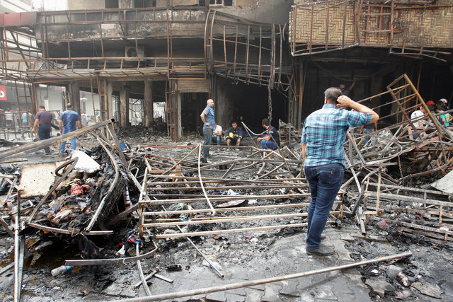 Nearly 120 killed in overnight Baghdad bombings claimed by IS