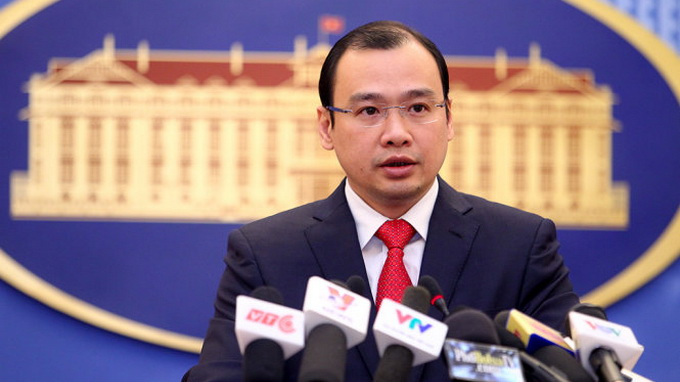 Vietnam welcomes Hague ruling on East Vietnam Sea disputes: foreign ministry