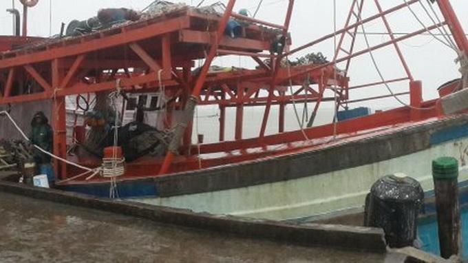 Thai Navy's shooting of Vietnam fishing boats