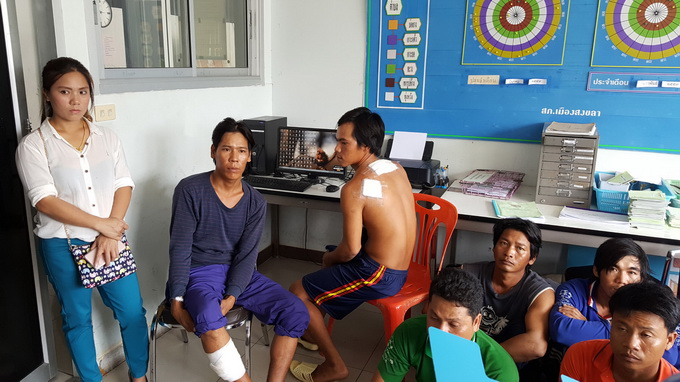 Thai Navy aids in search for missing Vietnamese fisherman after sinking his boat