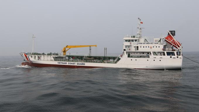 Vietnam Coast Guard welcomes first homebuilt replenishment oiler
