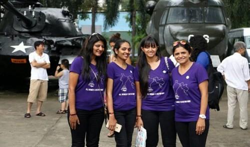 Indian Bike Queens roar into Vietnam on 10-nation female empowerment