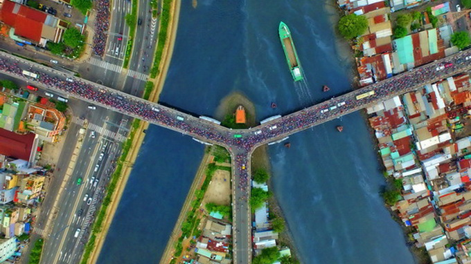 Vietnamese question: Are drone photos works of art?