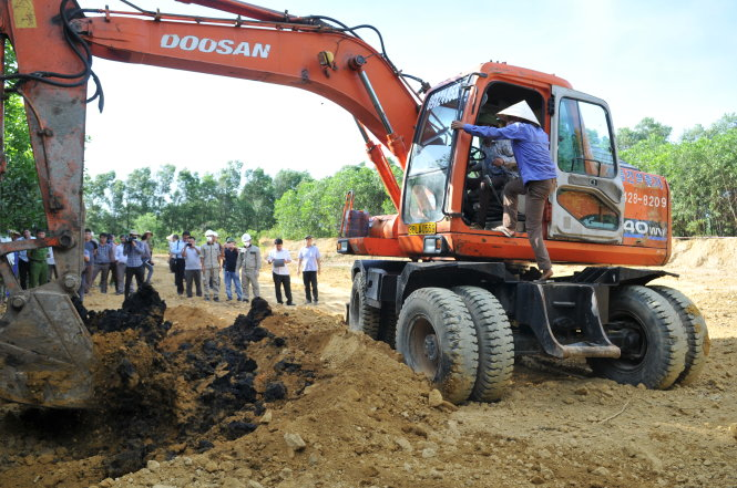Formosa among accused as Vietnam probes illegal waste burial
