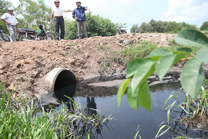 Ten years of unresolved pollution dogs Vietnam's industrial cluster