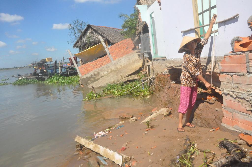 Major rivers of Vietnam's Mekong Delta become unusually deeper
