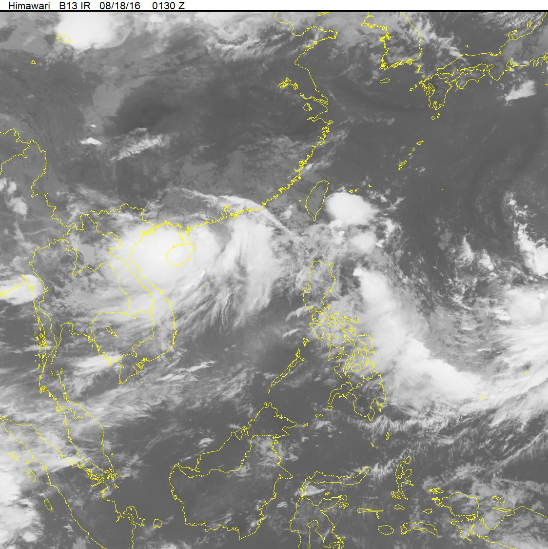 Tropical Storm Dianmu closes in on northern Vietnam