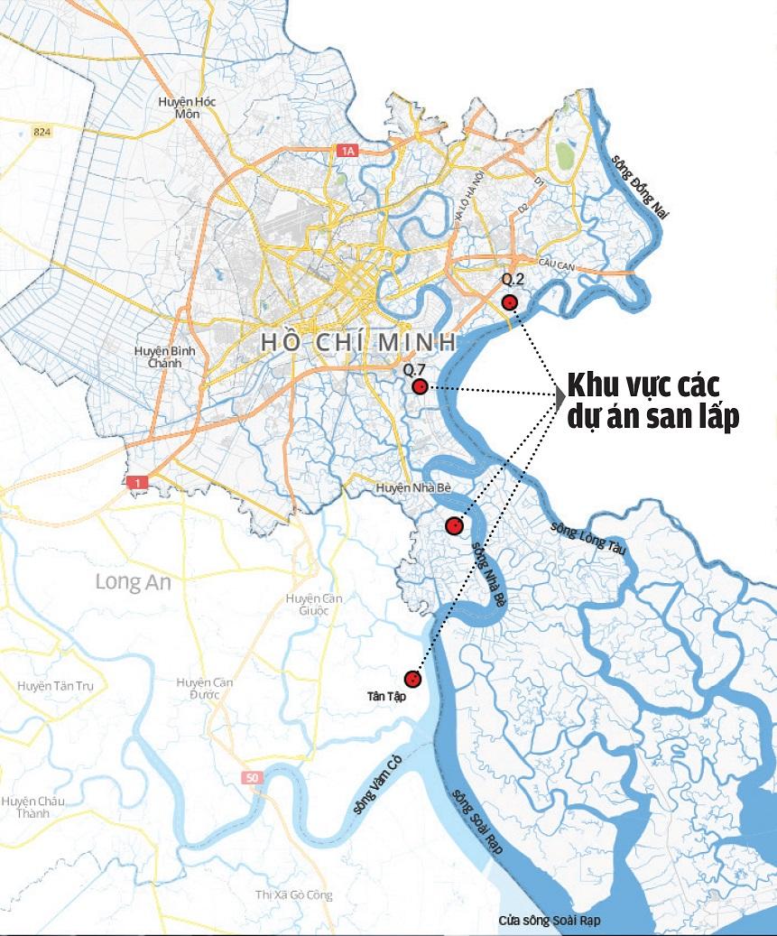 Wetland Accretion Exacerbates Tidal Flooding In Ho Chi