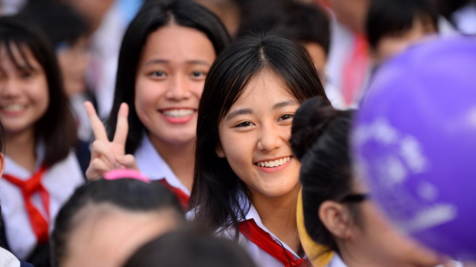 In Vietnam, the first day of school is a nationwide festival