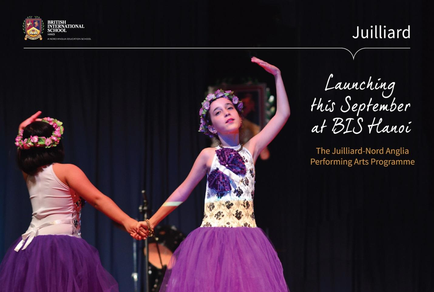 BIS Hanoi and the Juilliard Performing Arts Programme