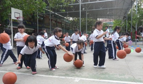 Ho Chi Minh City bans homework to primary students