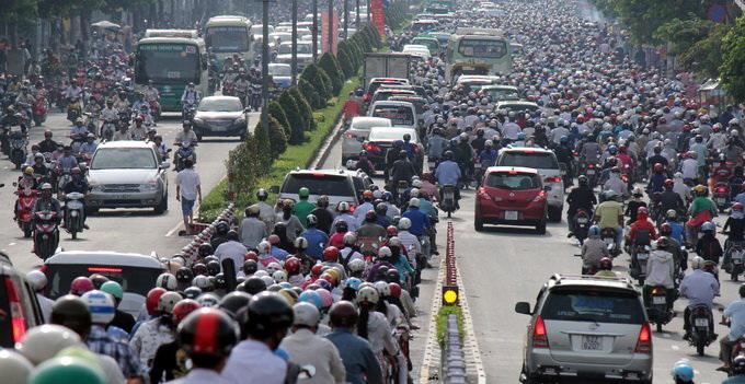 Ho Chi Minh City seeks capital to combat traffic congestion